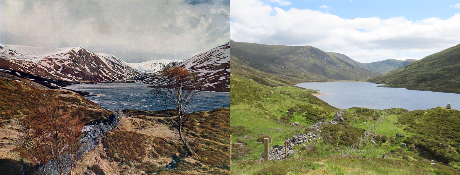 Loch Callater - Then and now