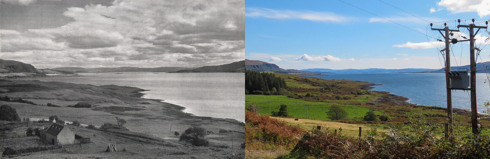 Sound of Mull - Then and now