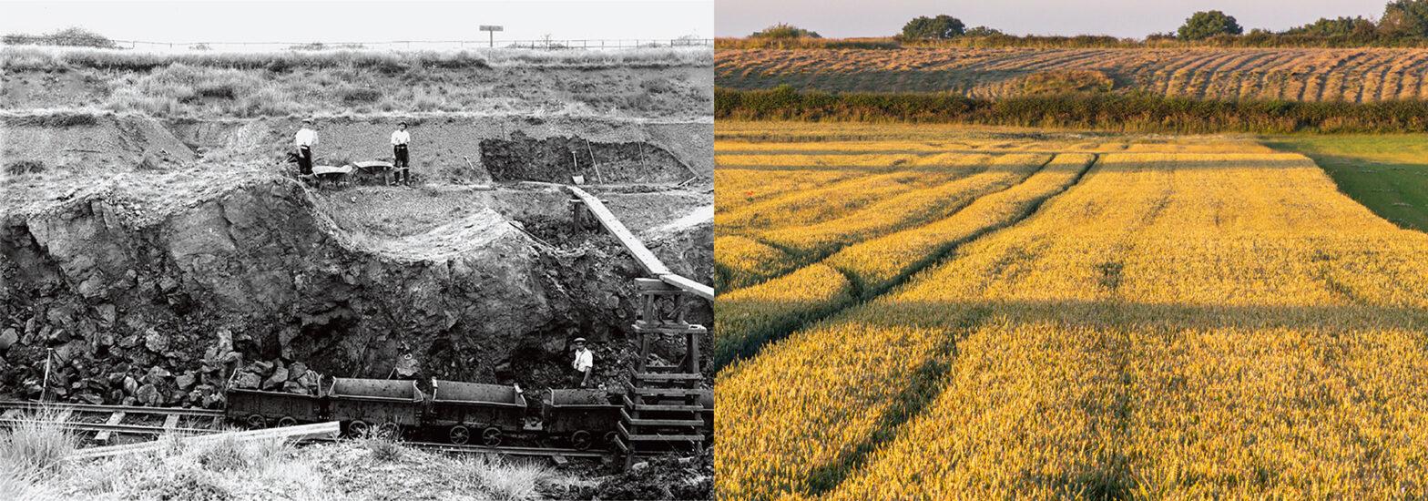 Eastwell - Newbridge Quarry - Then and now
